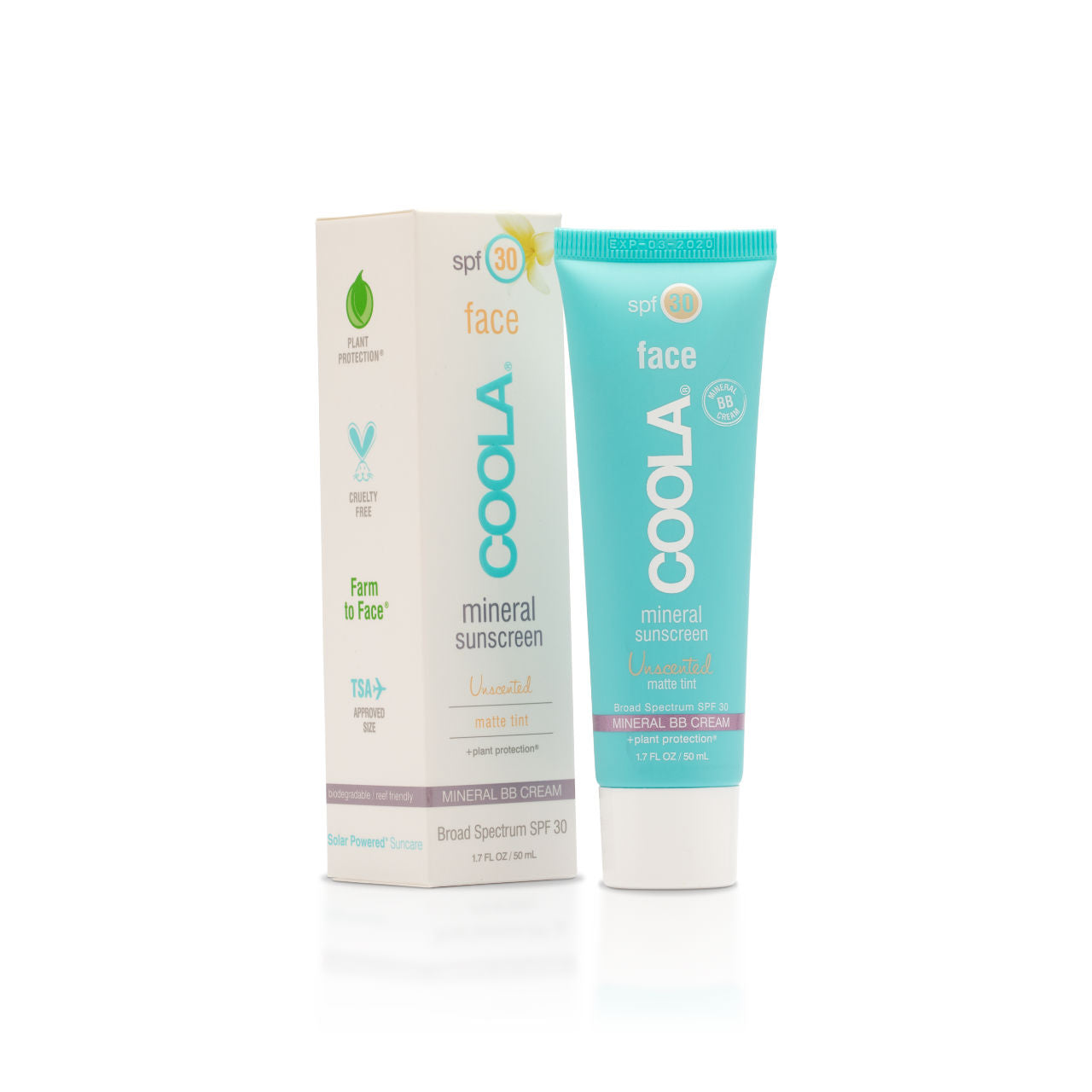 COOLA Mineral Face SPF30 Unscented Matte Tint