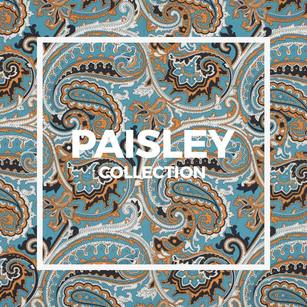 Paisley Pocket Square / Handkerchief