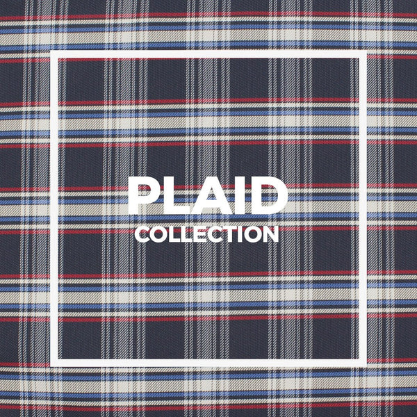 Plaid Pocket Square / Handkerchief