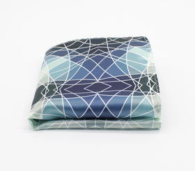 Abstract Lines Pattern Pocket Square