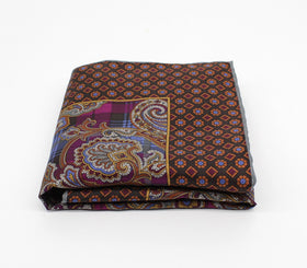 Abstract Silk Pocket Square