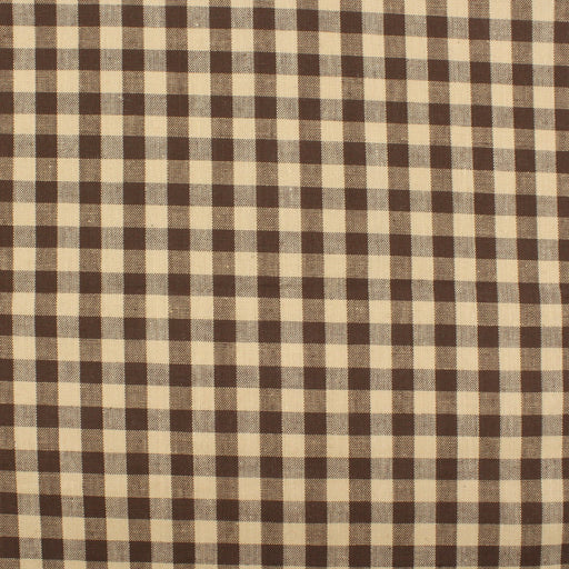 All Brown Plaid Pocket Square