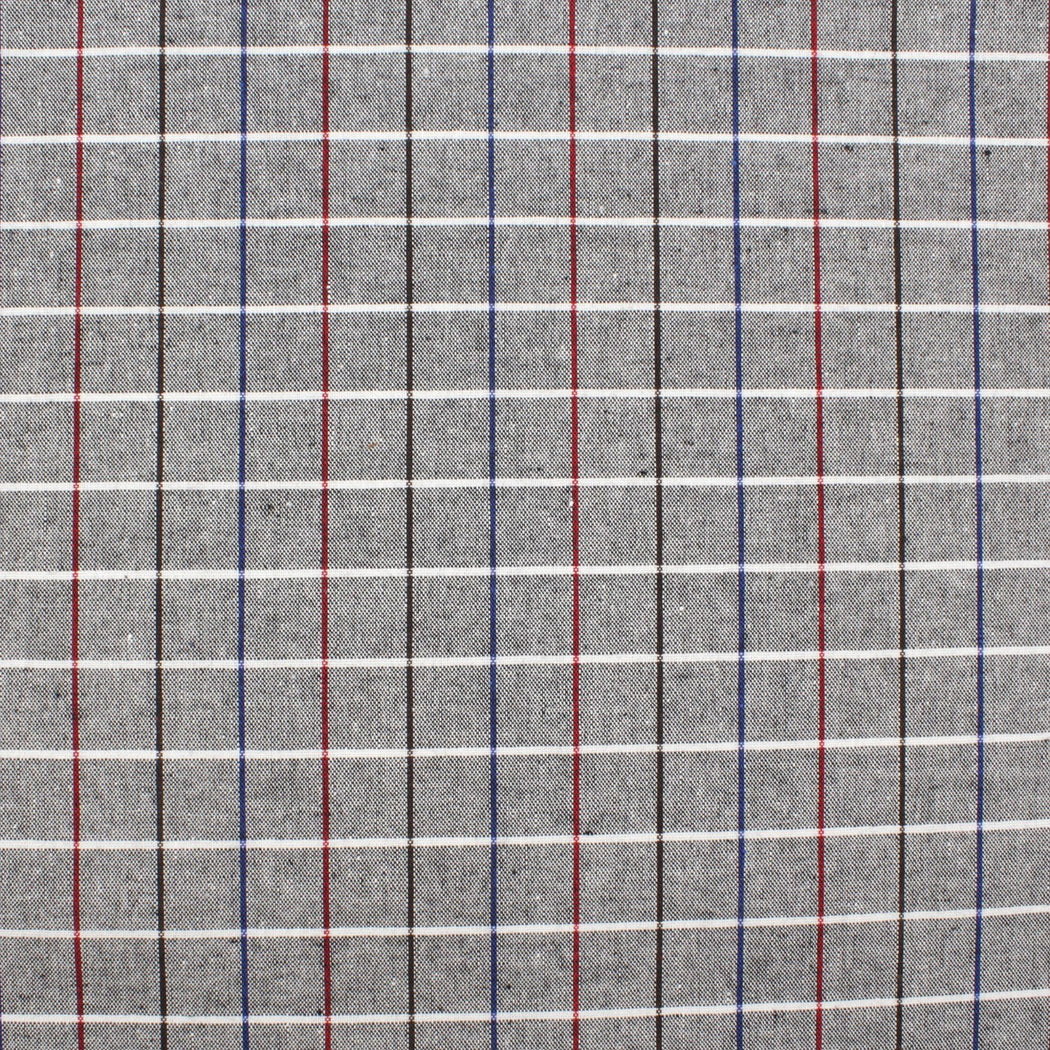 All Gray Plaid Pocket Square