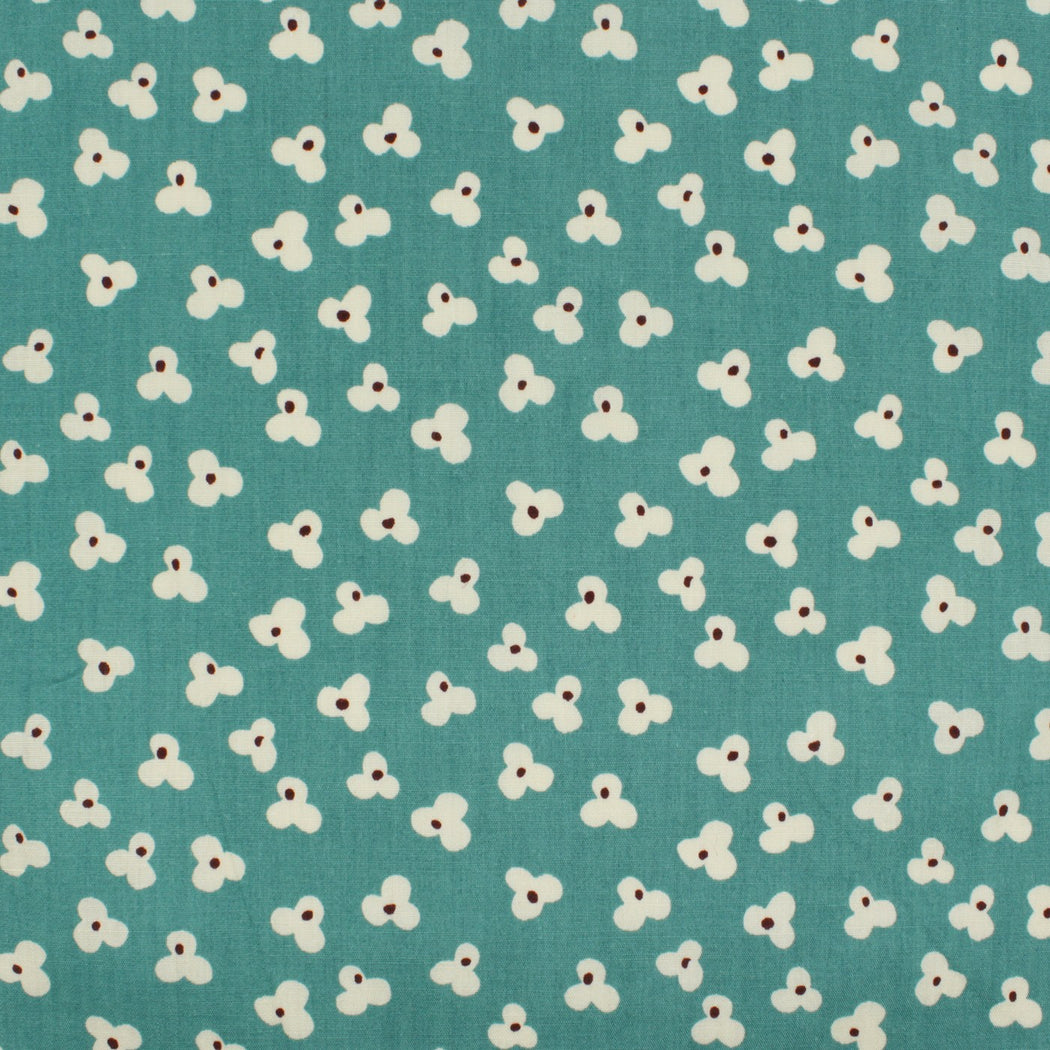 Aqua Blue Pattern Pocket Square