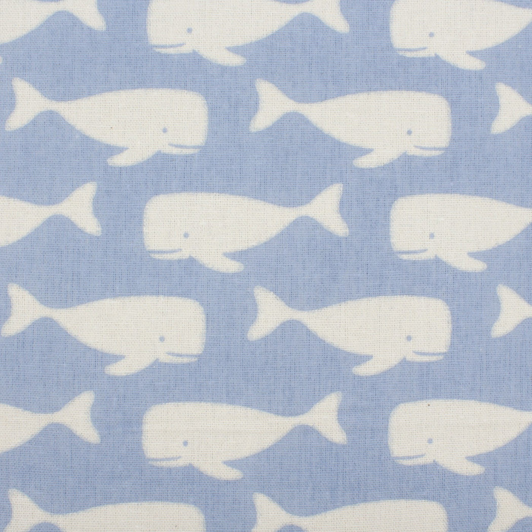 Baby Blue Pattern Pocket Square