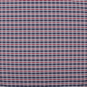 Berry Blue Plaid Pocket Square