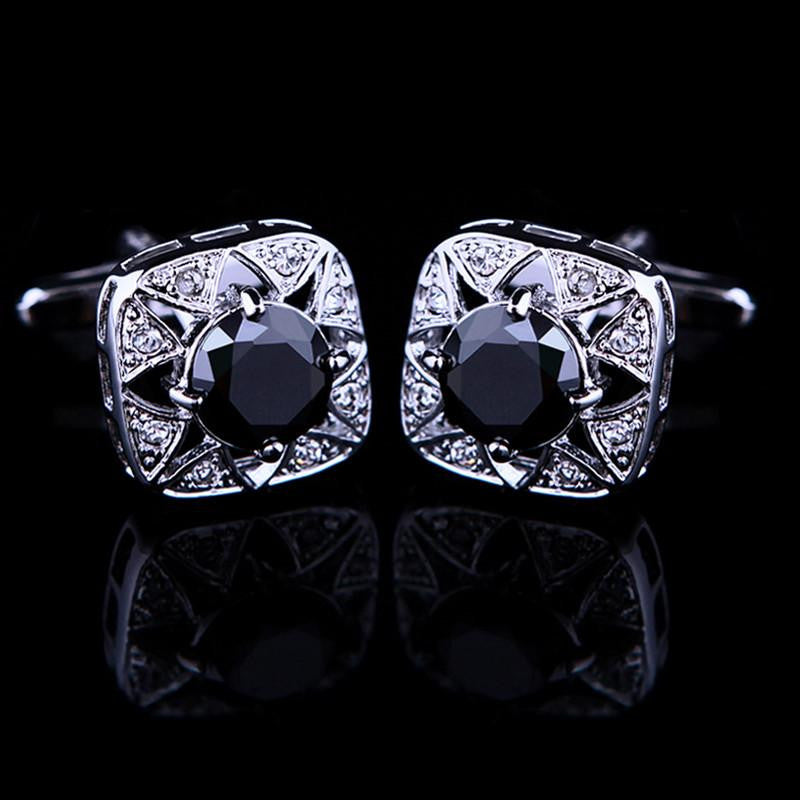 Black Jewel Cufflink