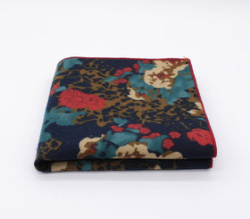 Blinding Brown Floral Hanky