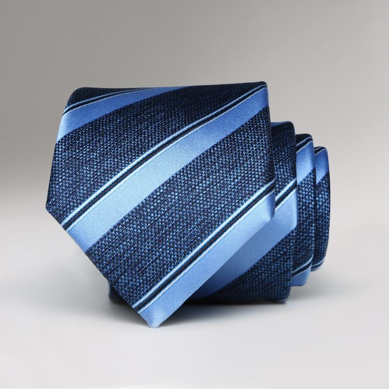 Blue Gem Striped Tie