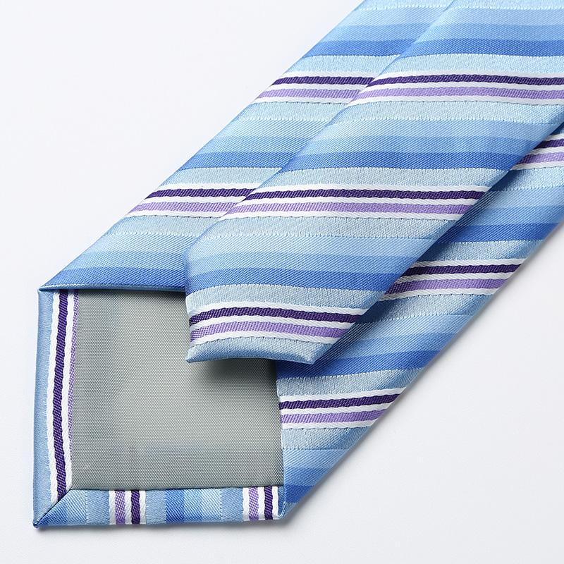 Blue Mix Striped Tie