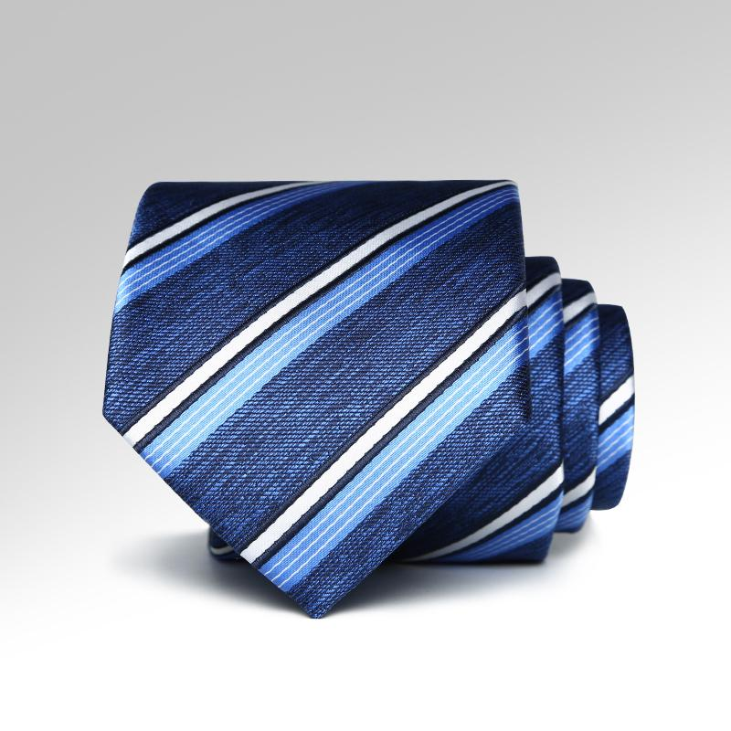 Blueberry Striped Tie
