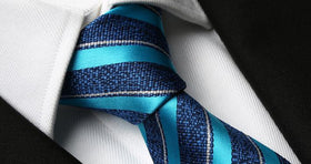 Bright Sea Striped Tie