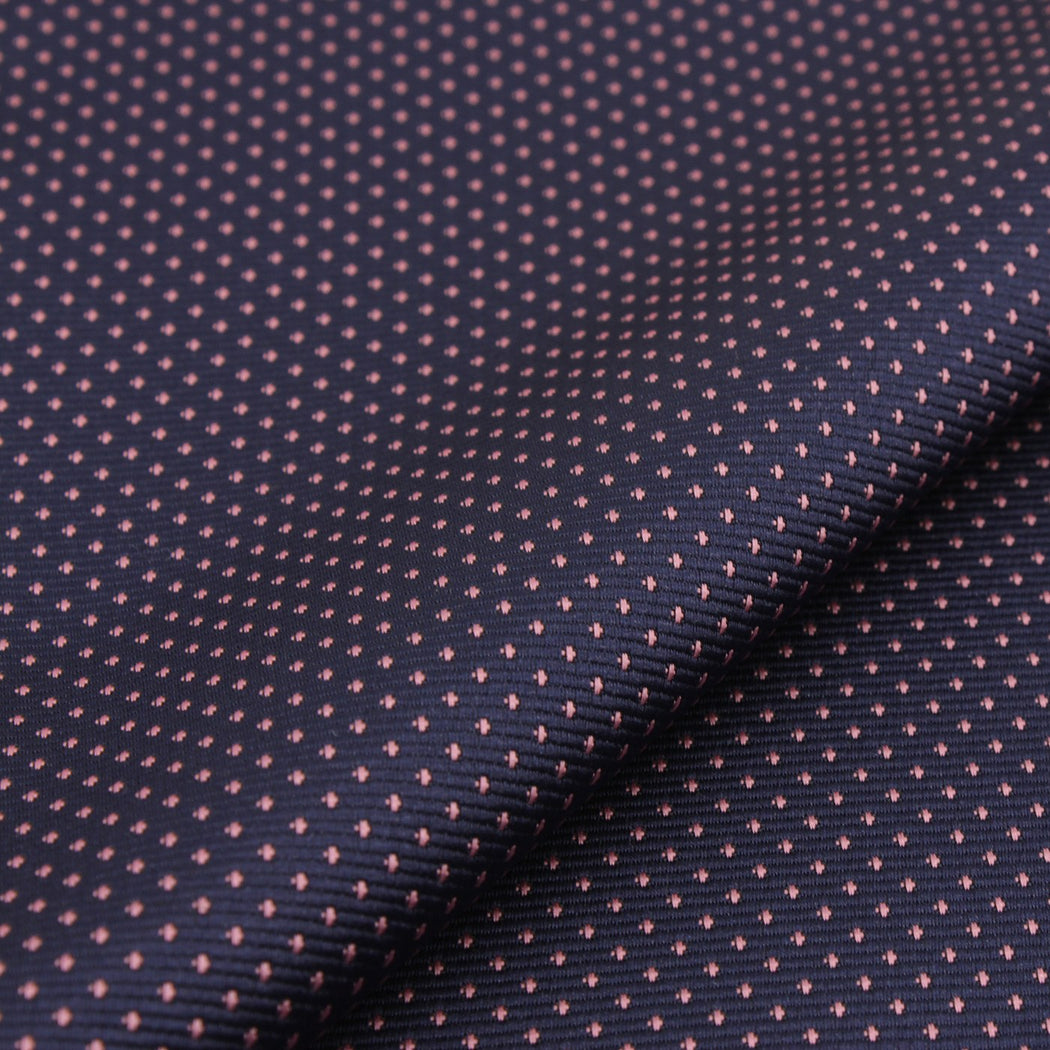 Buzzing Blue Polka Dot Pocket Square