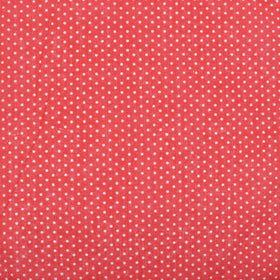 Candy Red Polka Dot Pocket Square