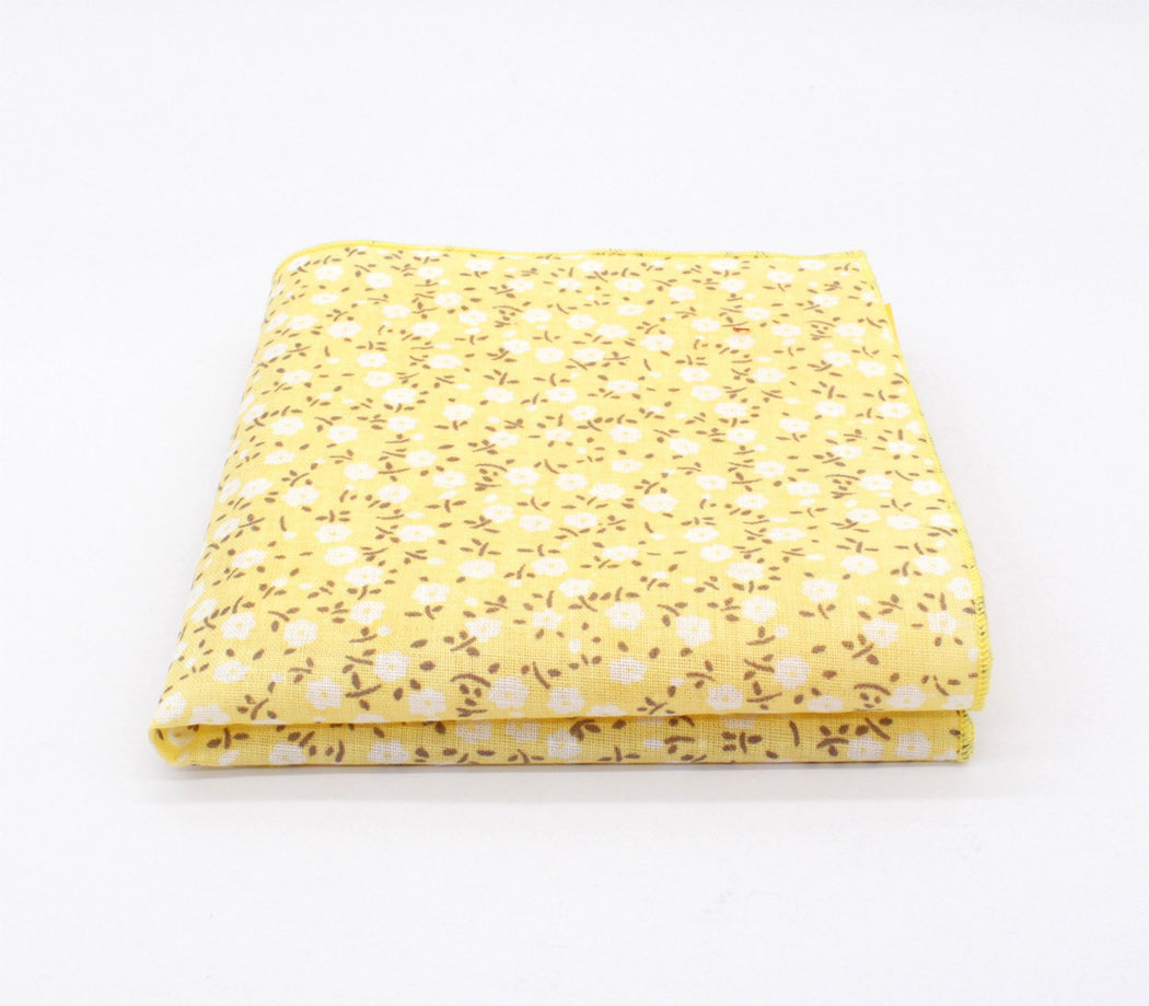 Caramel Delight Pattern Pocket Square