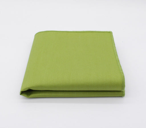 Chartreuse Green Solid Color Pocket Square