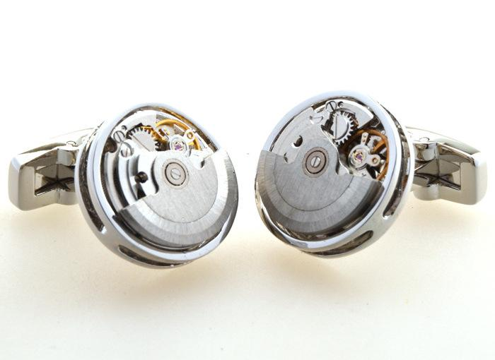 Cover Up Mechanical Watch Movement Cufflinks