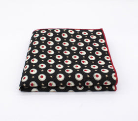 Crisp Pattern Pocket Square