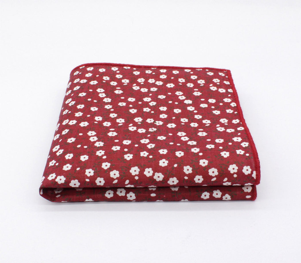 Deep Pattern Pocket Square