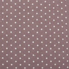 Dying Maroon Polka Dot Pocket Square