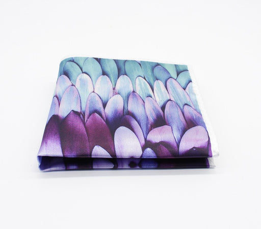 Feathers Pattern Pocket Square