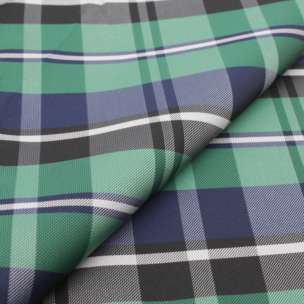 Five Blend Plaid Pocket Square