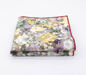 Flower Pool Floral Handkerchief