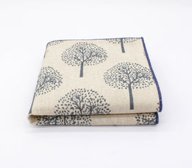 Forest Pattern Pocket Square