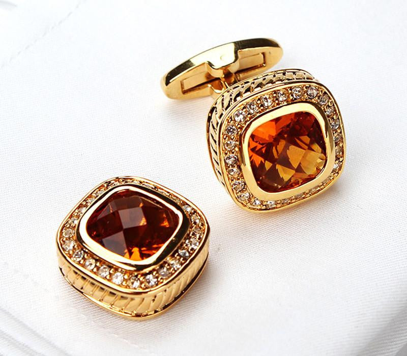 Golden Shade Cufflink