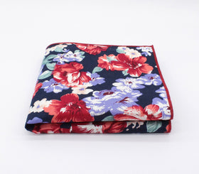 Imperial Navy Flower Hanky