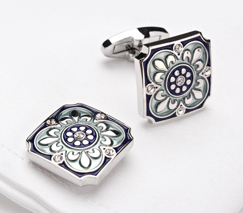 Indigo Crafty Cufflink