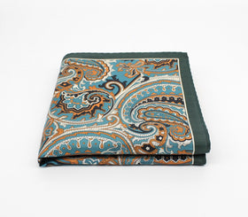 Jungle Silk Pocket Square