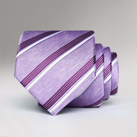 Lavenda Striped Tie