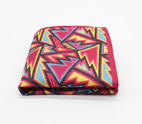 Loud Abstract Pattern Pocket Square