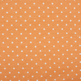 Milky Orange Polka Dot Pocket Square
