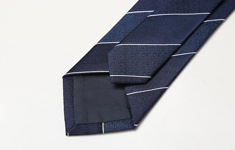 Modern Striped Tie