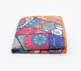 Mosaic Pattern Pocket Square