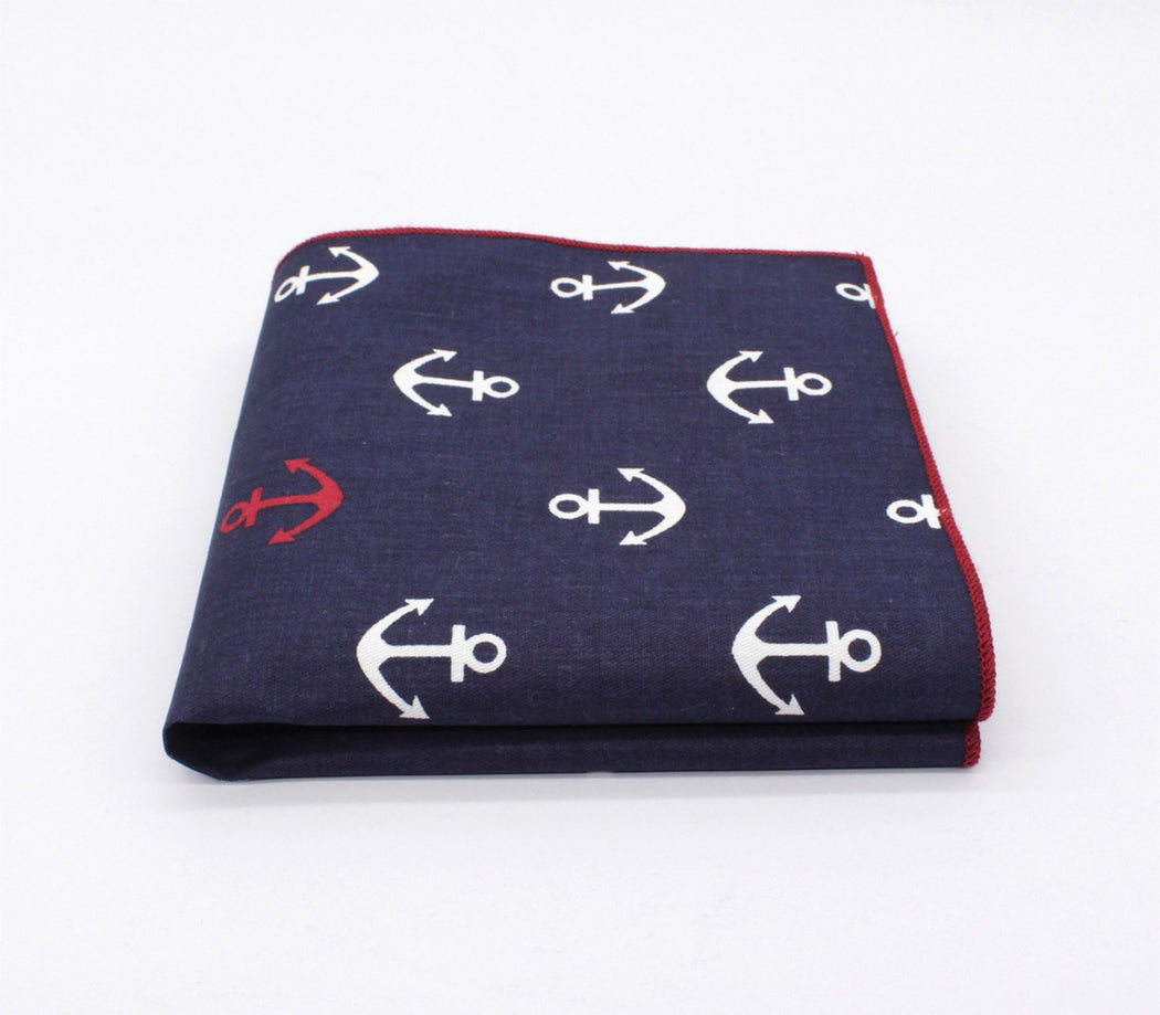 Nautical Pattern Pocket Square