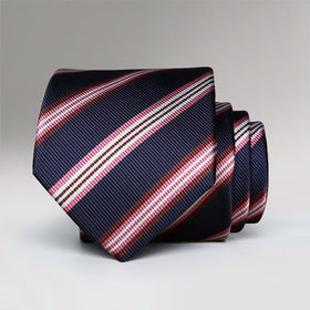 New School Striped Tie