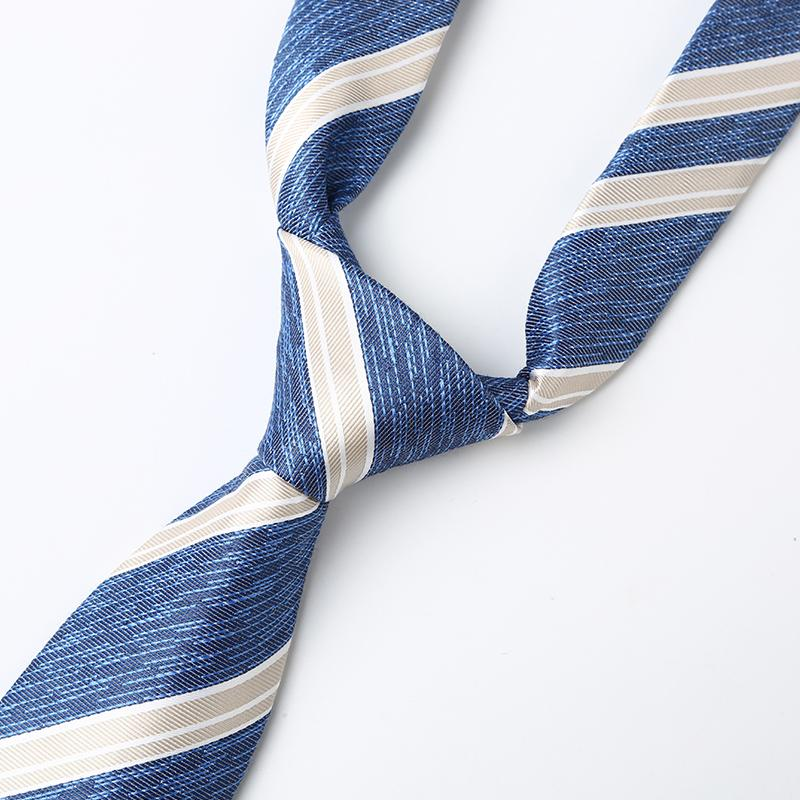 Ocean Sky Striped Tie