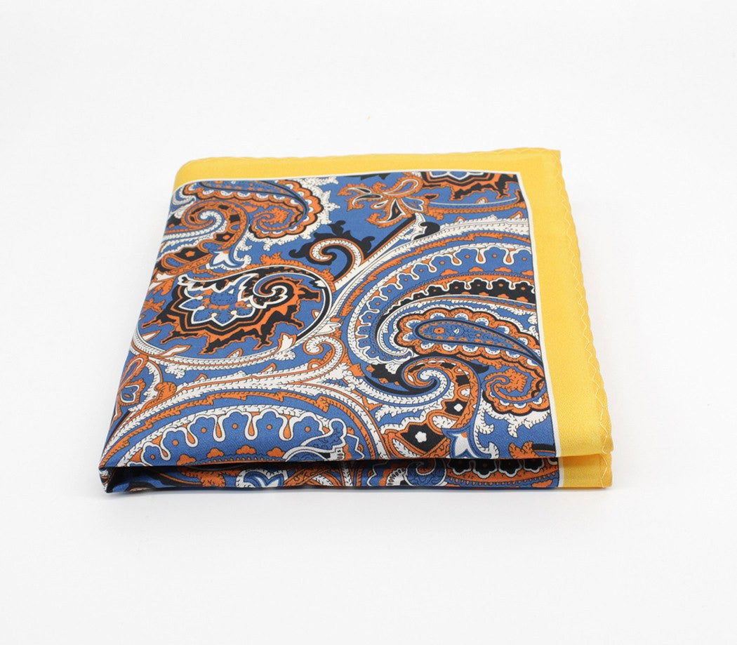 Party Piece Silk Pocket Square