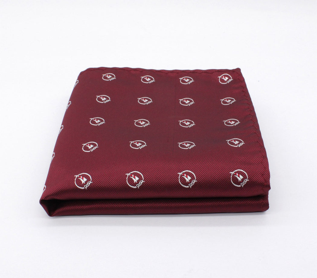 Passion Pattern Pocket Square
