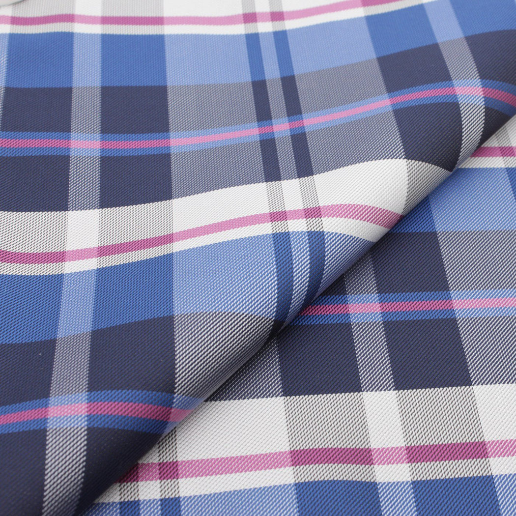 Passionate Purple Plaid Pocket Square