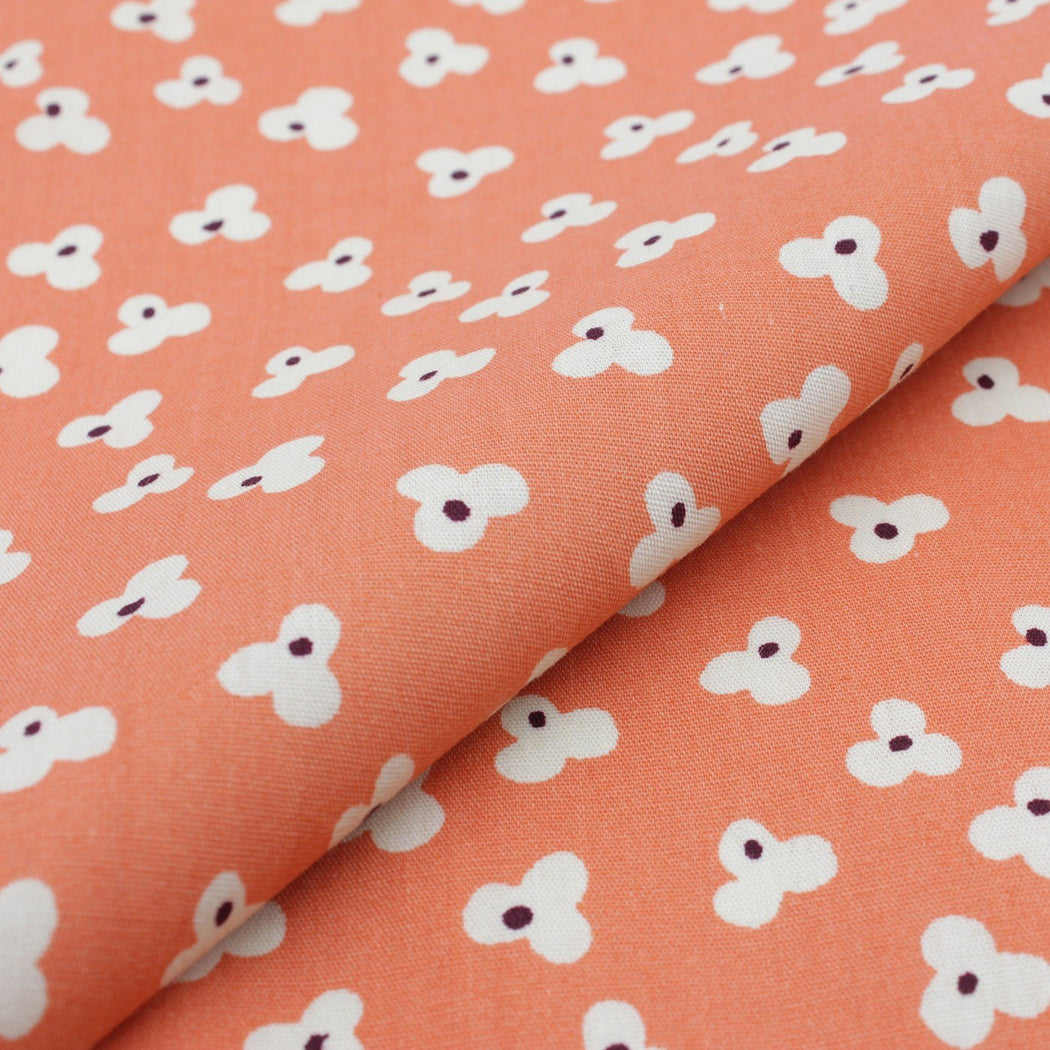 Peach Glamour Pattern Pocket Square