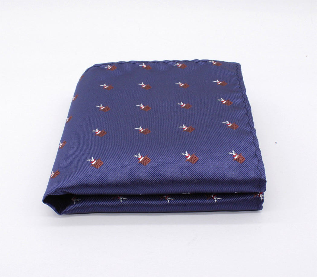 Playful Pattern Pocket Square