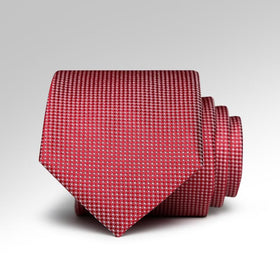 Red Squares Tie