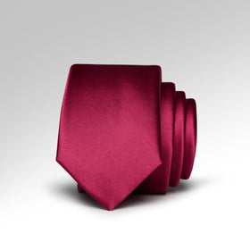 Red Wine Skinny Tie
