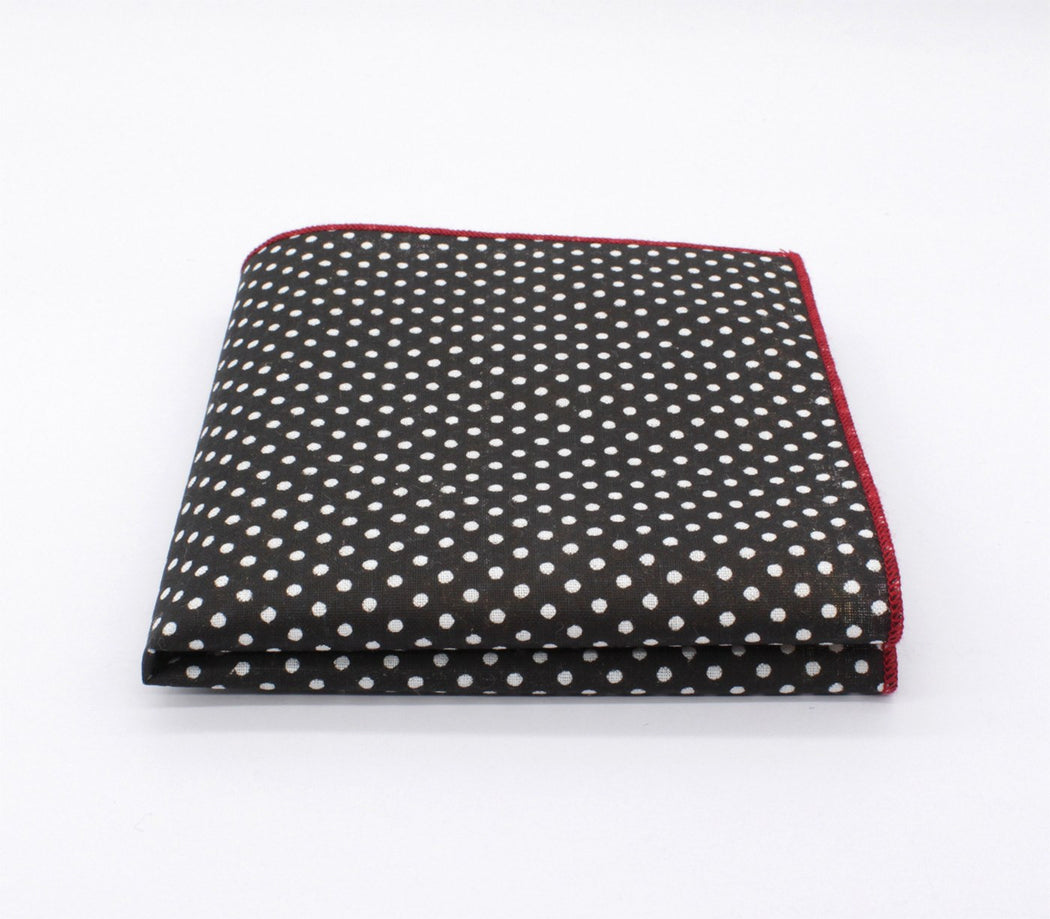 Rocking Golden Polka Dot Pocket Square