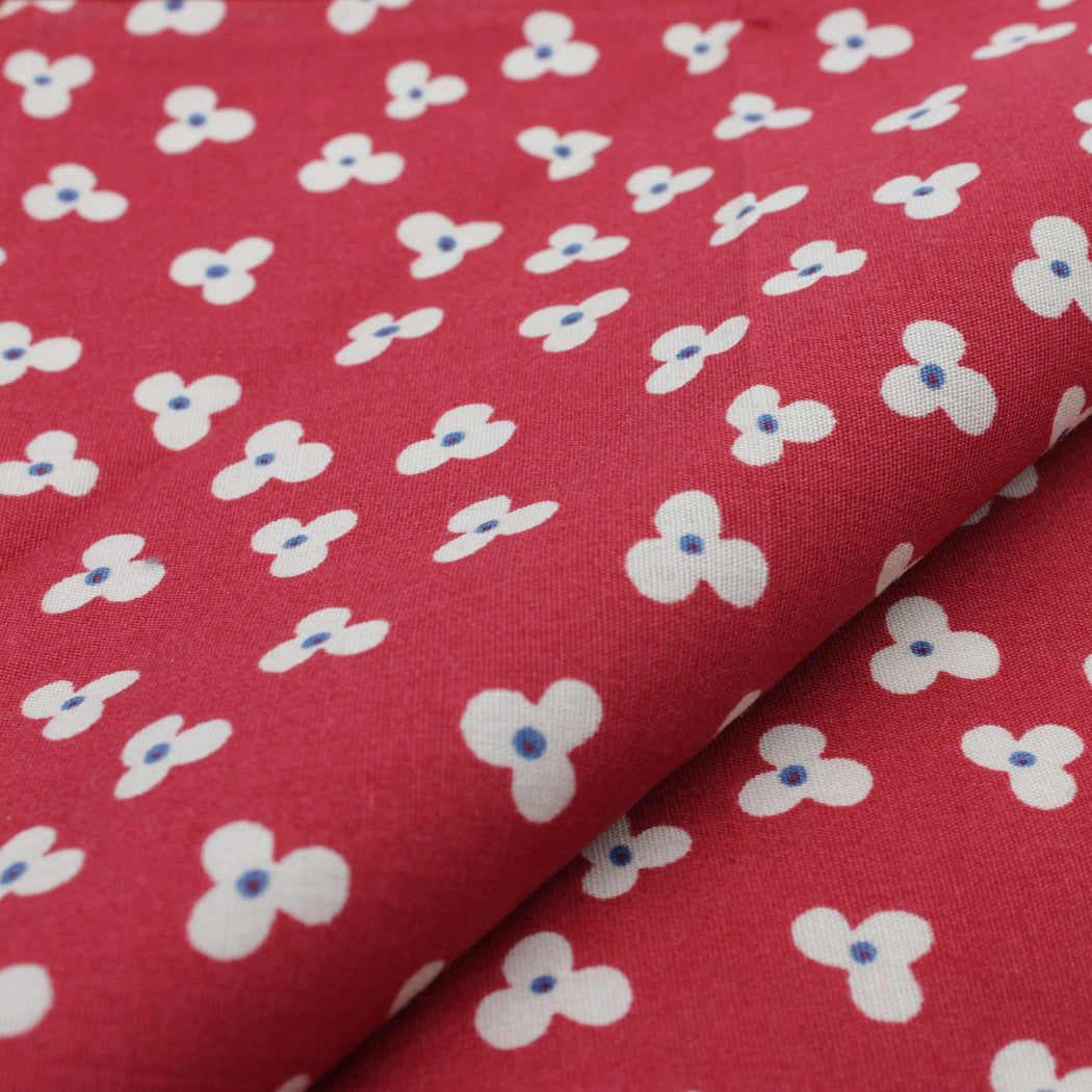 Romantic Red Pattern Pocket Square