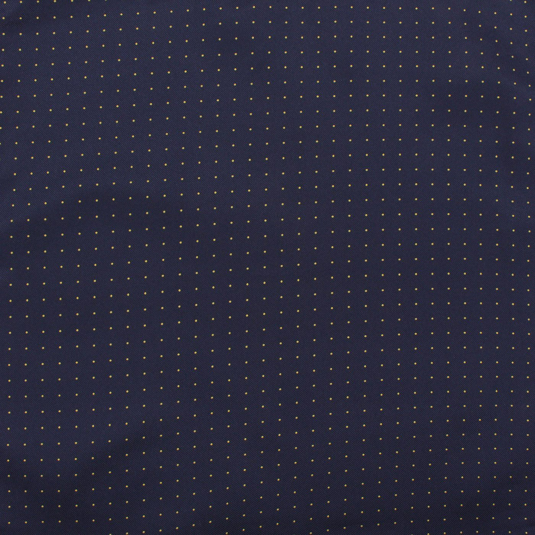 Sizzling Denim Polka Dot Pocket Square
